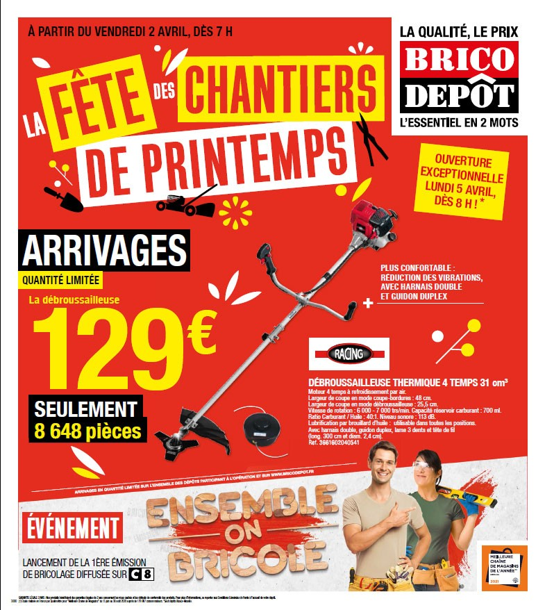 catalogue arrivages brico depot 2 avril